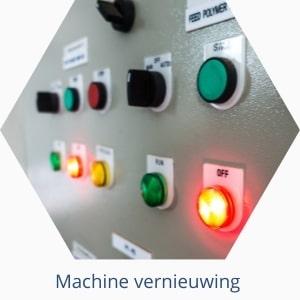 Machine vernieuwing met AB Besturingstechniek